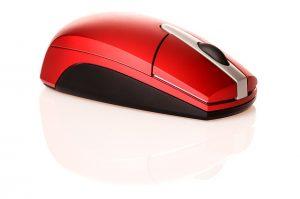 Mouse vermelho